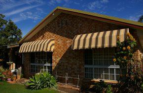 Fixed Frame Fabric Awnings Caloundra Sunshine Coast Security