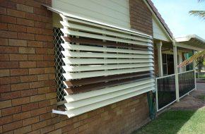 Fixed Louvres Caloundra Sunshine Coast Security