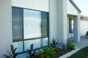 Welded Diamond Grille Caloundra Sunshine Coast Security