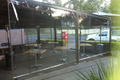 Cafe Blind Caloundra Sunshine Coast Security