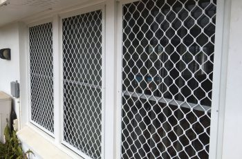 Riveted Diamond Grille Caloundra Sunshine Coast Security
