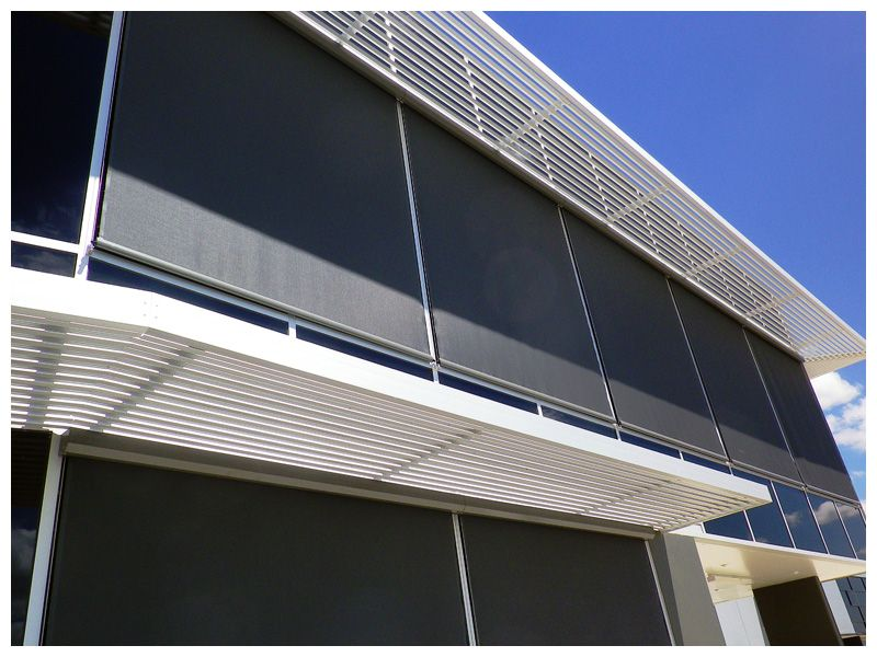 Straight Drop Wire Guide Awning Caloundra Screens Amp Awnings