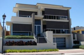 Straight Drop, Wire Guide Awning Caloundra Sunshine Coast Security